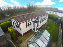 £99,950 - 2 Bedroom Detached Mobile Home For Sale in Tregadillett area – click for details