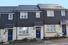 £117,822 - 3 Bedroom Shared Ownership Mid-Terraced Modern Home For Sale in Launceston area – click for details