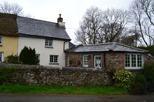 £230,000 - 2 Bedroom Grade II Listed Semi-Detached Cottage For Sale in Petherwin Gate area – click for details