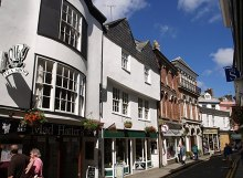 Launceston, Church Street, Cornwall © Copyright Derek Harper